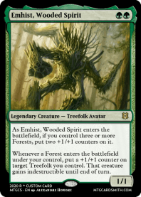 Emhist, Wooded Spirit