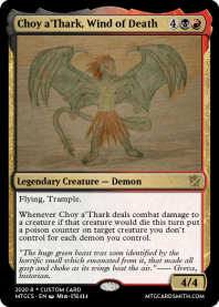 Choy a'Thark, Wind of Death