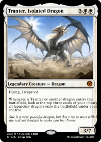 Tranter, Isolated Dragon