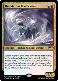 Thunderous Bladecaster