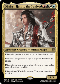 Dimitri, Heir to the Sunlords
