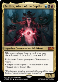 Zerilith, Witch of the Depths