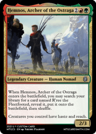 Hemnos Archer of the Ostraga