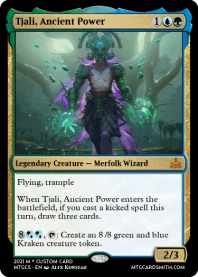 Tjali, Ancient Power